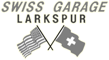Swiss Garage Larkspur Logo